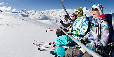 Skipass at Les Deux Alpes