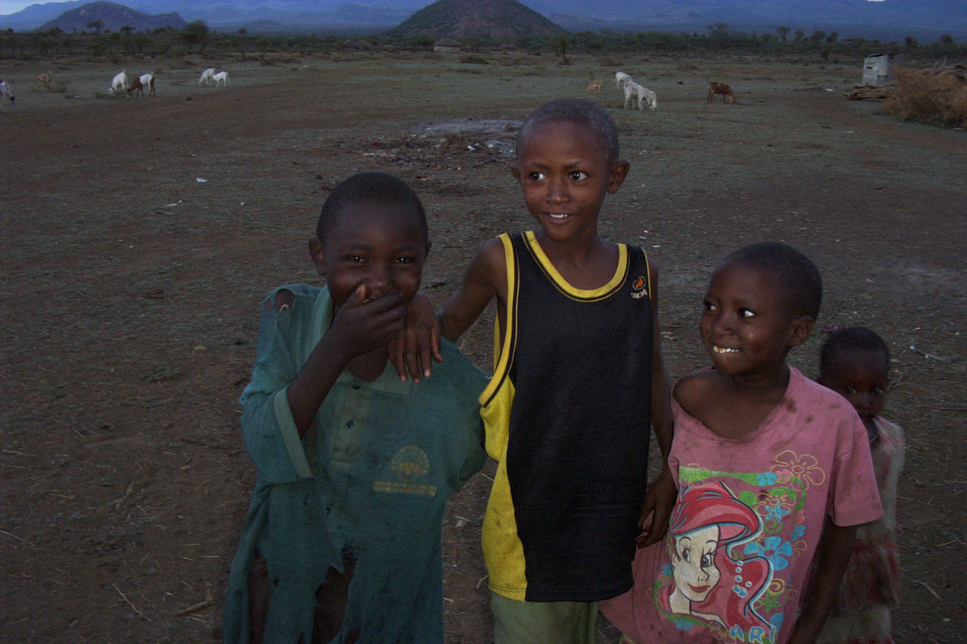 Masai in Tsavo National Park Kenya