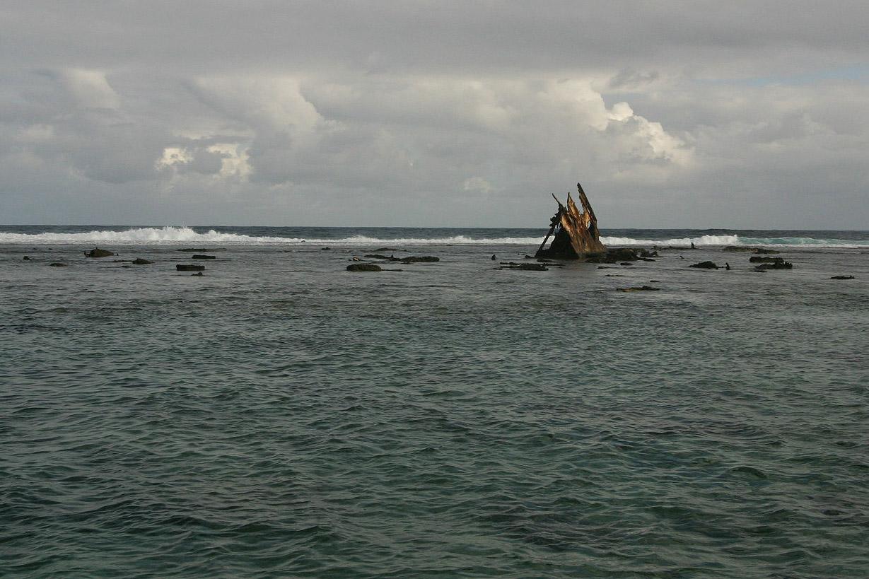 Relitto a Mauritius