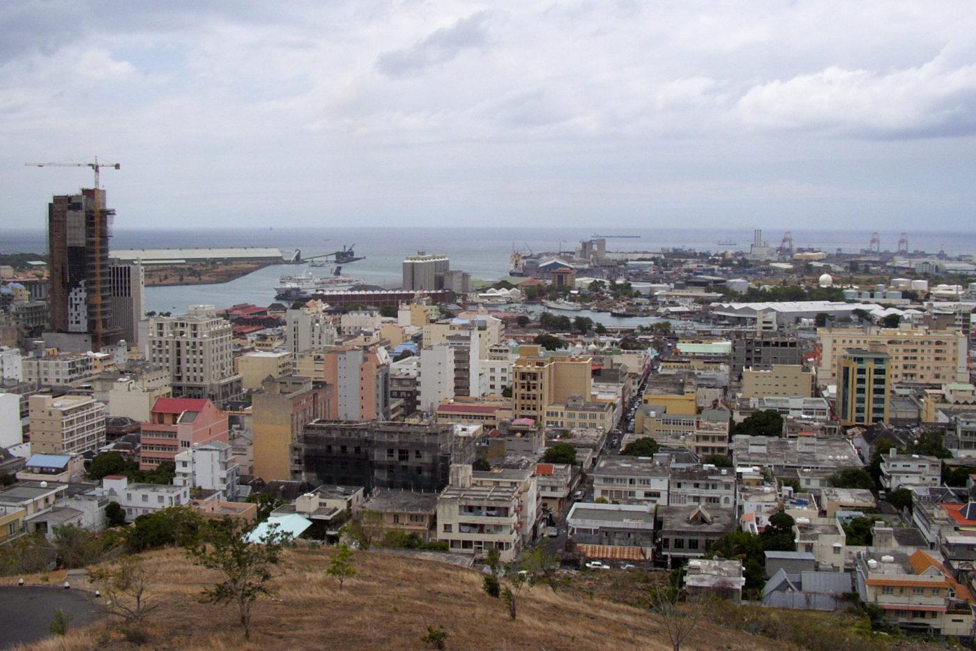 Port Luis a Mauritius