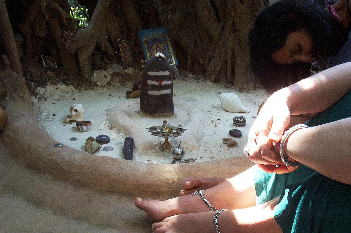 Shiva Lingam Goa India
