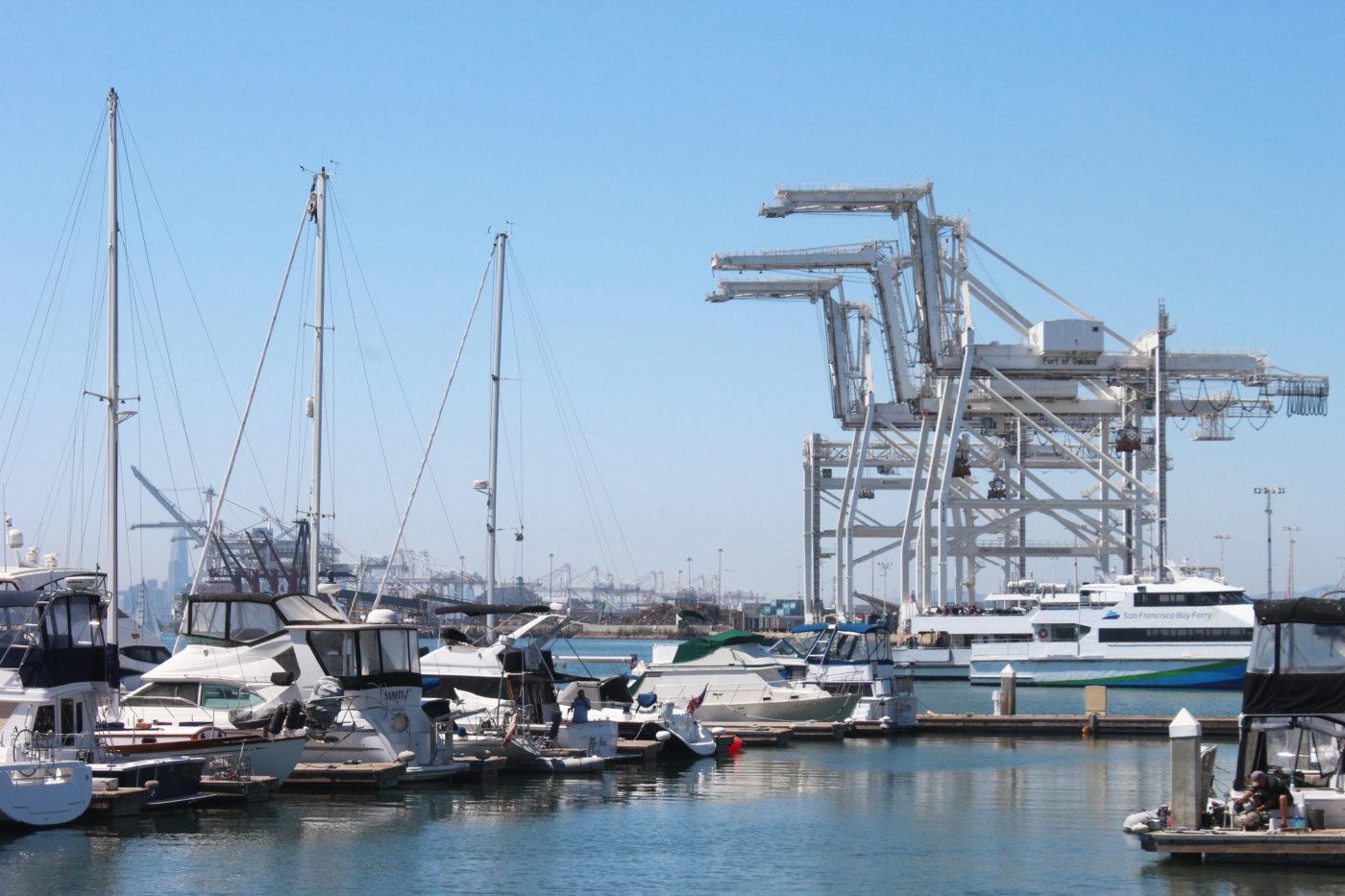 Cranes Oakland California