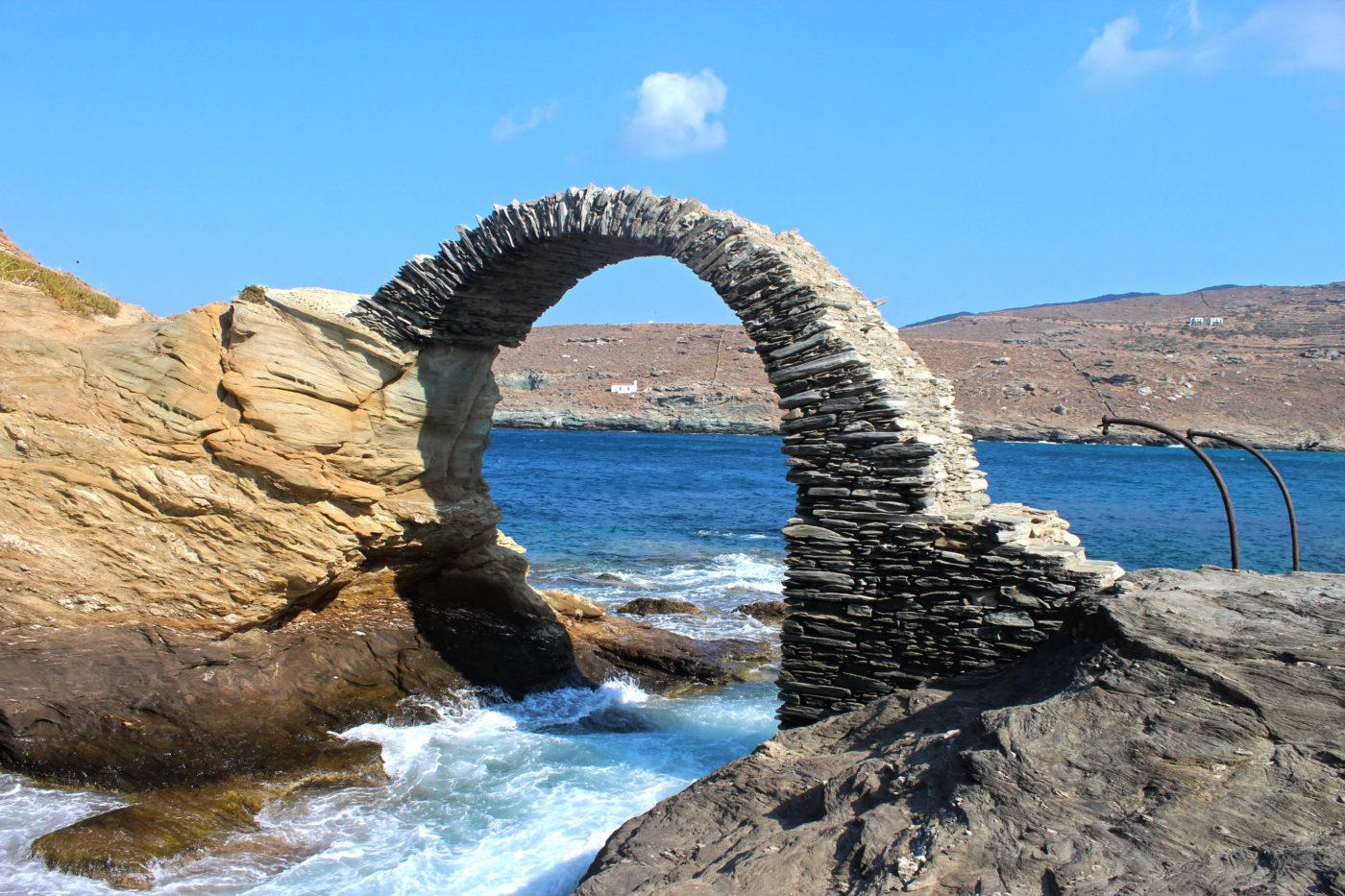 Grecia Cicladi Andros Arco