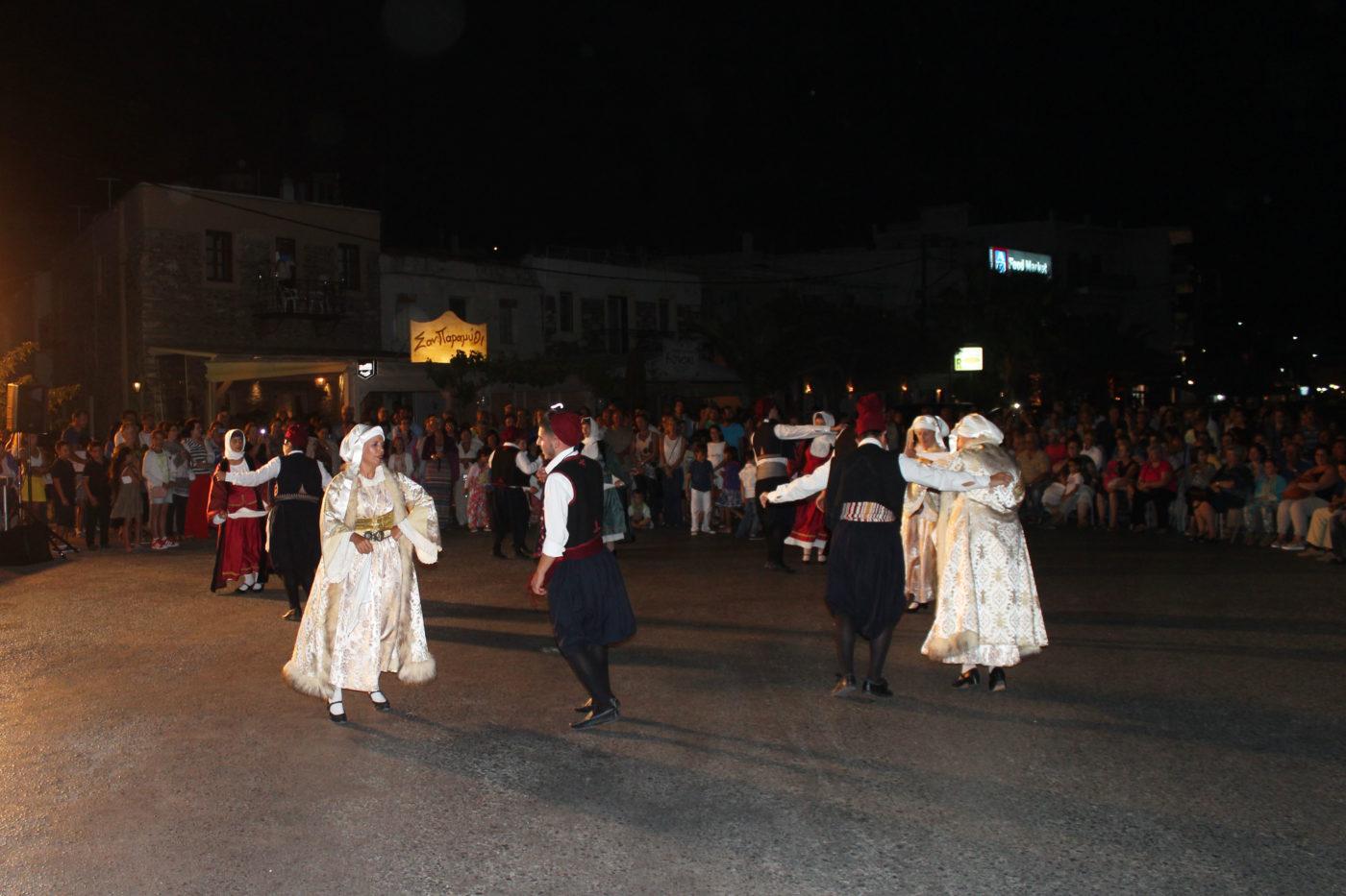 Grecia Cicladi Andros dansa greca sirtaki