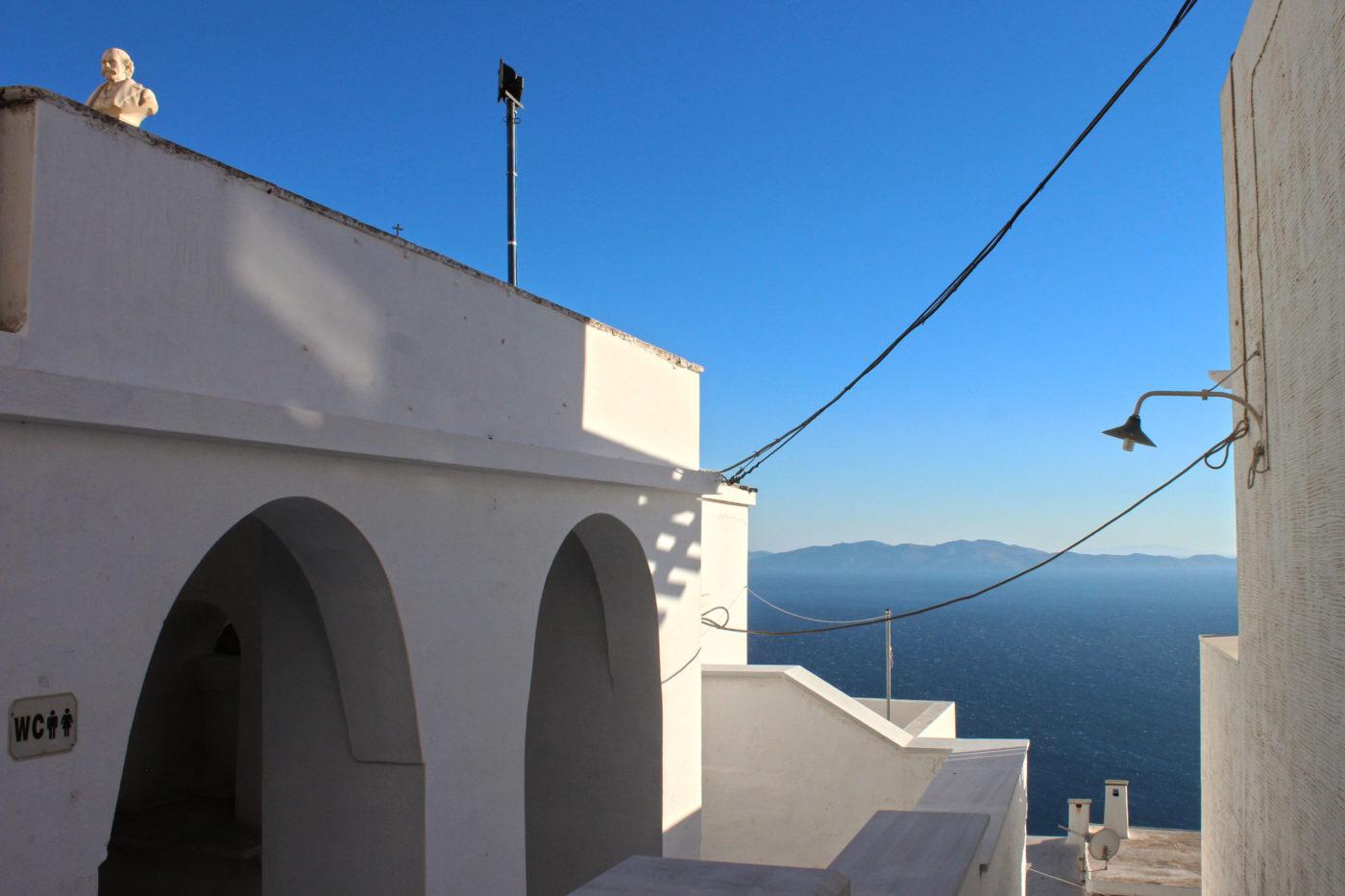 Tinos Grecia Cicladi Isternia