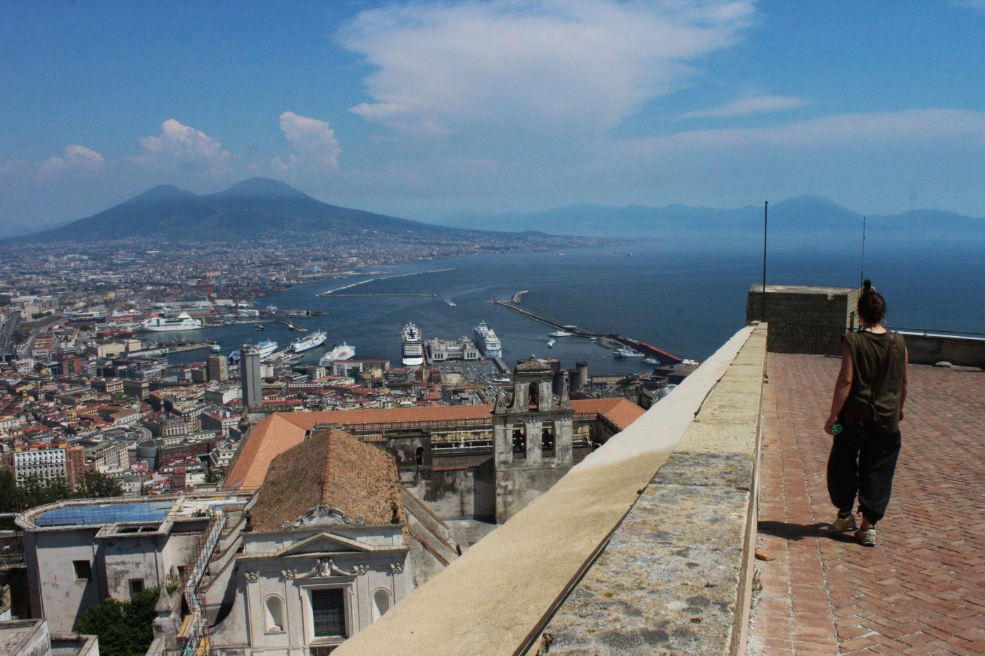 Vista di Napoli dalla Certosa di san Martino