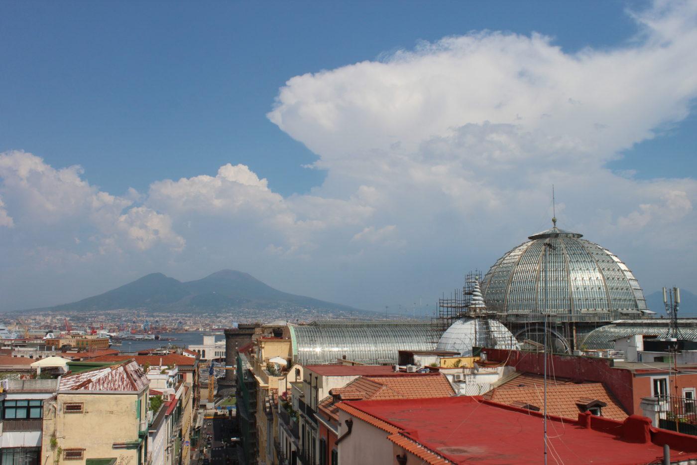 Vista di Napoli con Cupola Galleria Umbero I