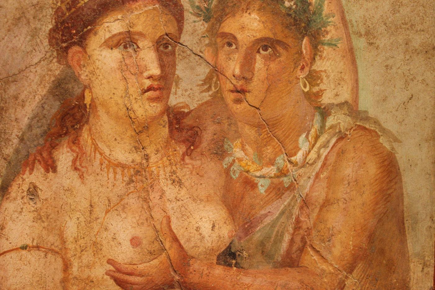 Museo Archeologico Nazionale di Napoli - Pittura erotica Etrusca
