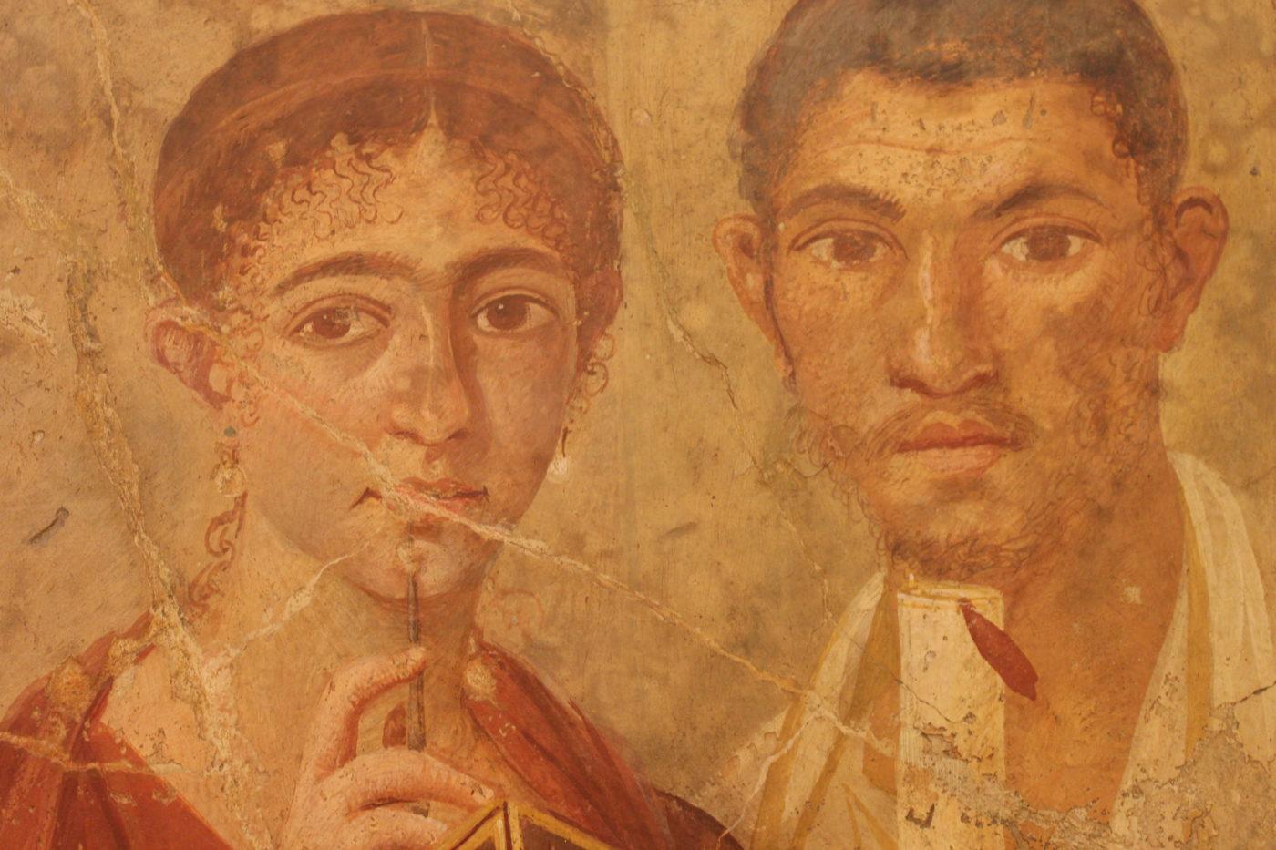 Museo Archeologico Nazionale di Napoli - Pittura Etrusca