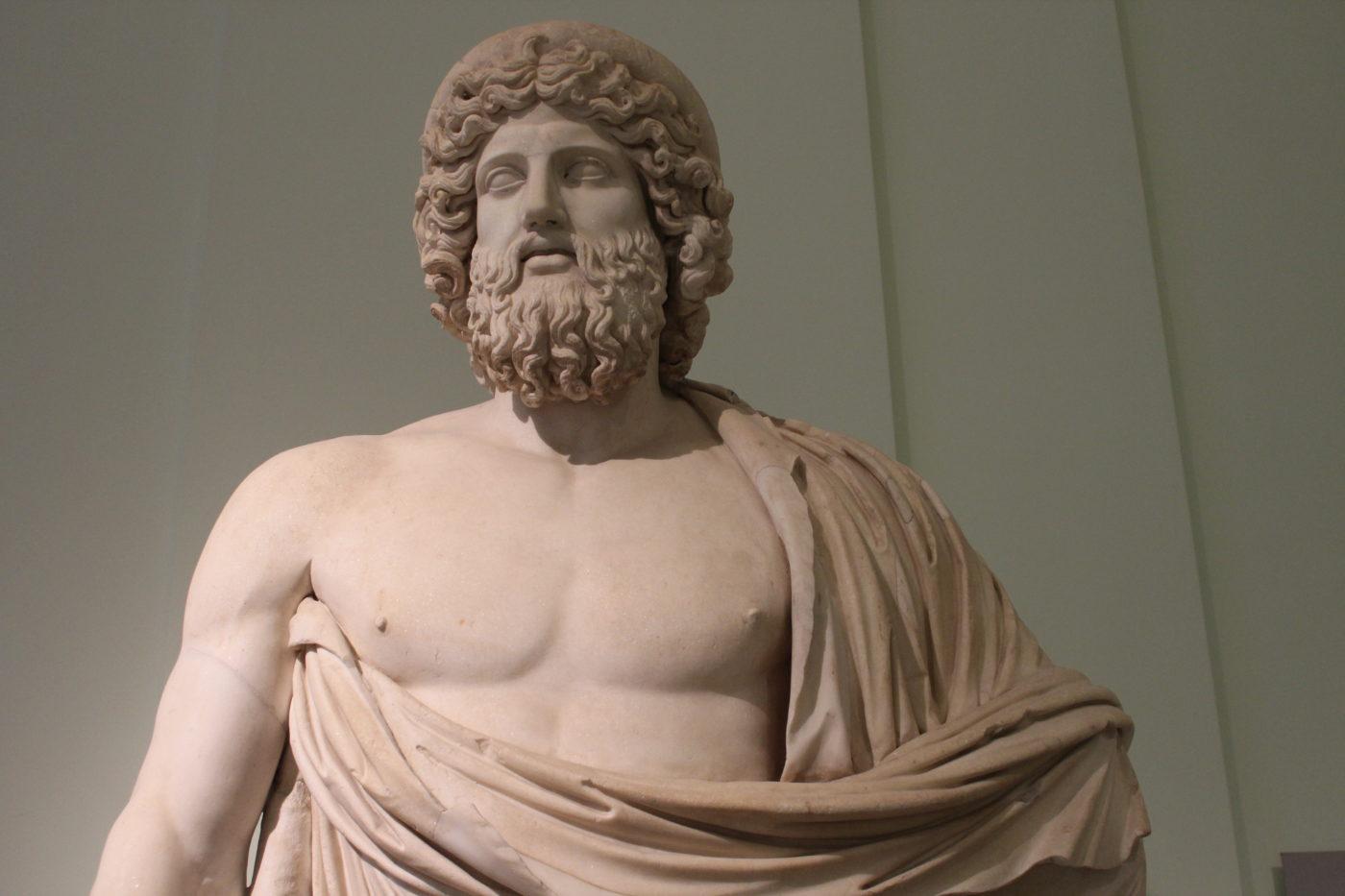 Museo Archeologico Nazionale di Napoli Statua Romana