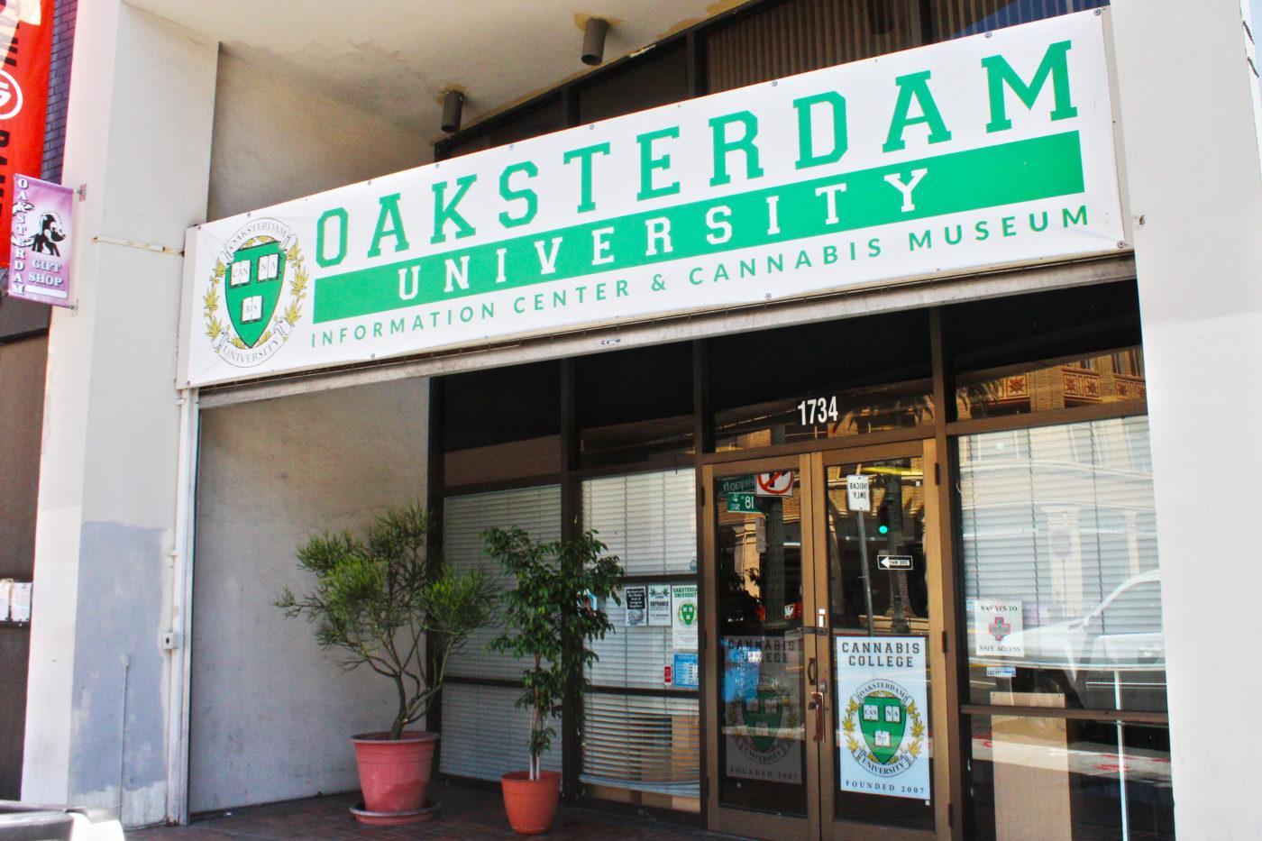 Oaksterdam Oakland California