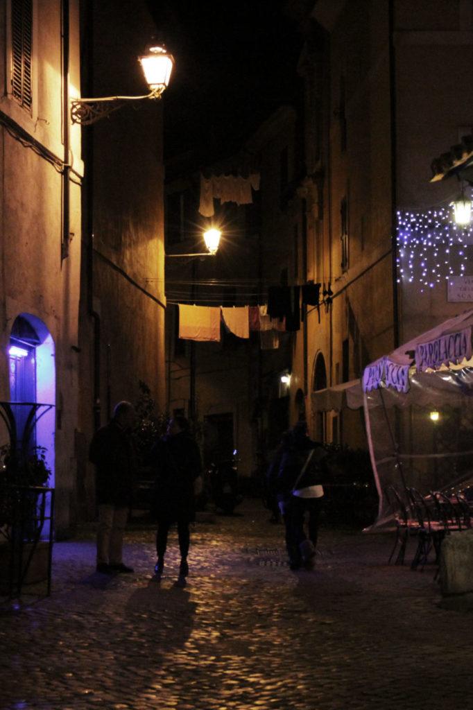 Roma di Notte Trastevere