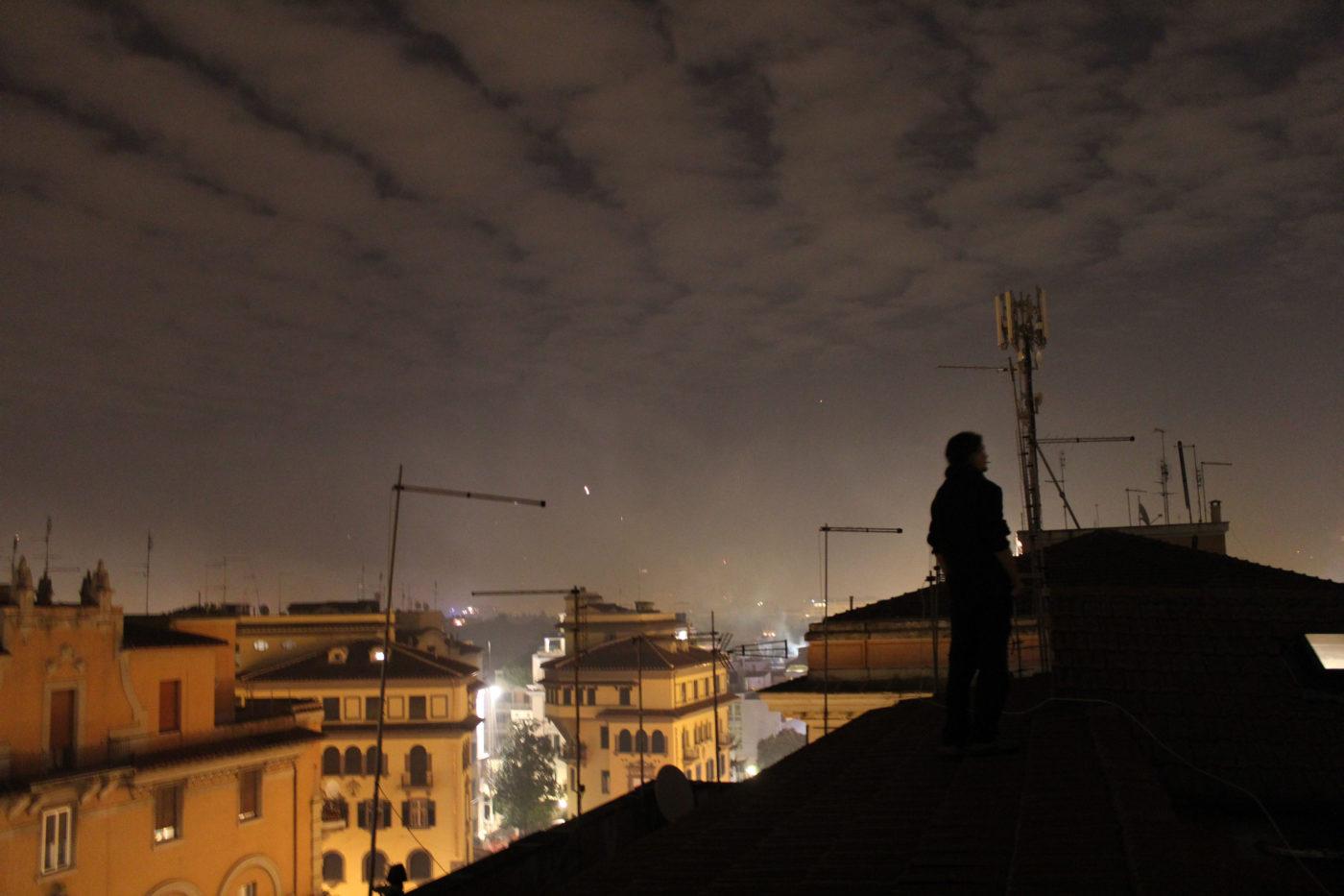 Roma di Notte Via Morgagni