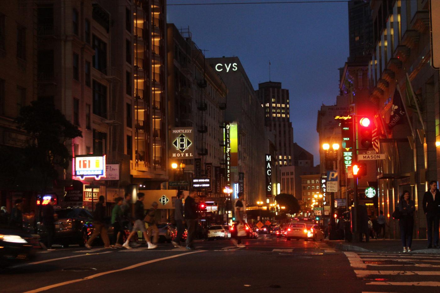 San Francisco di notte