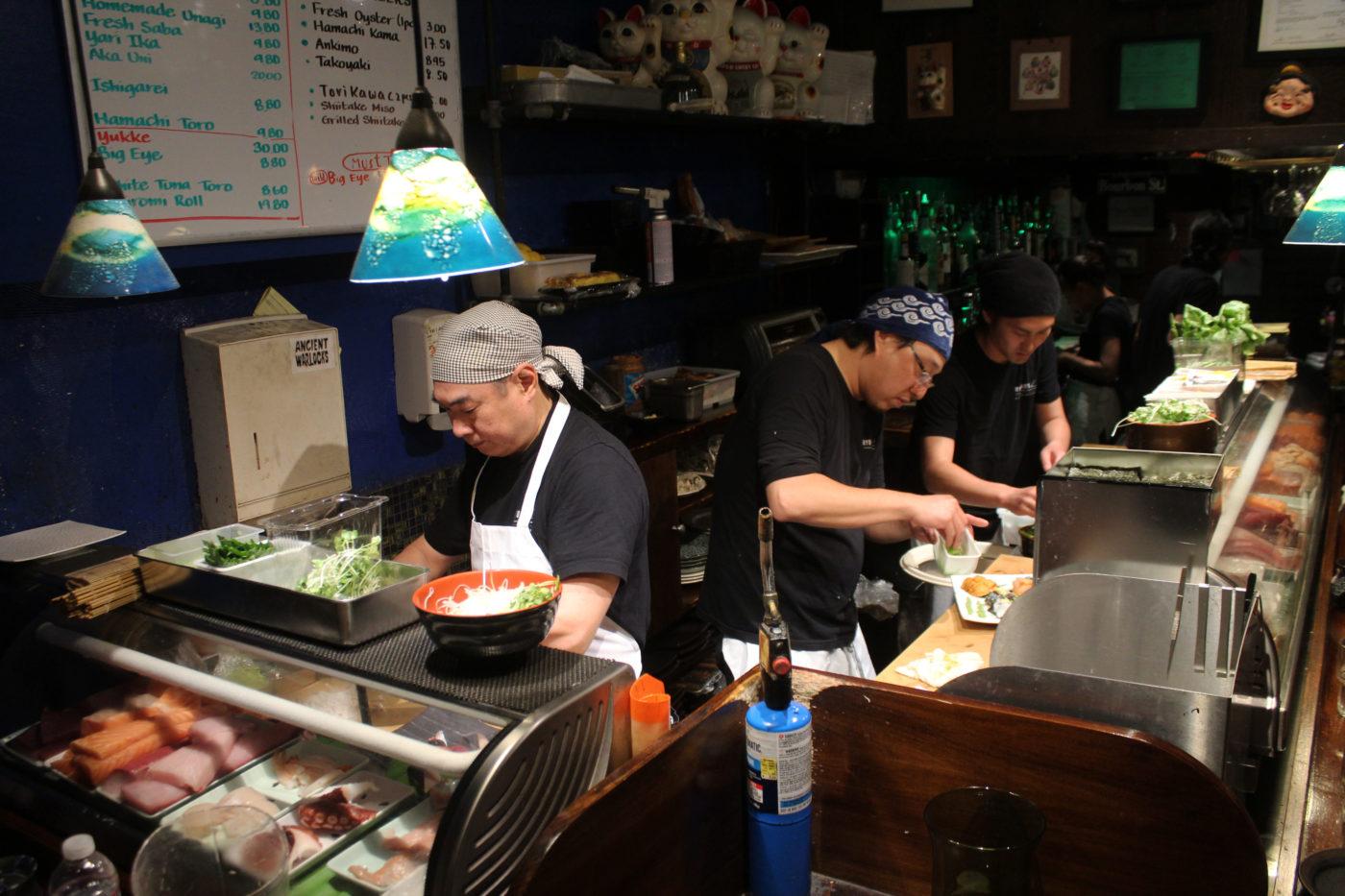 San Francisco Ryoko's Sushi Bar