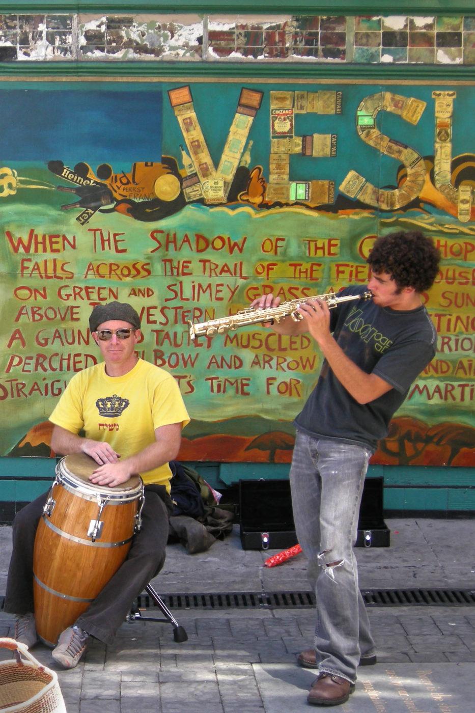 San Francisco musicisti vesuvio
