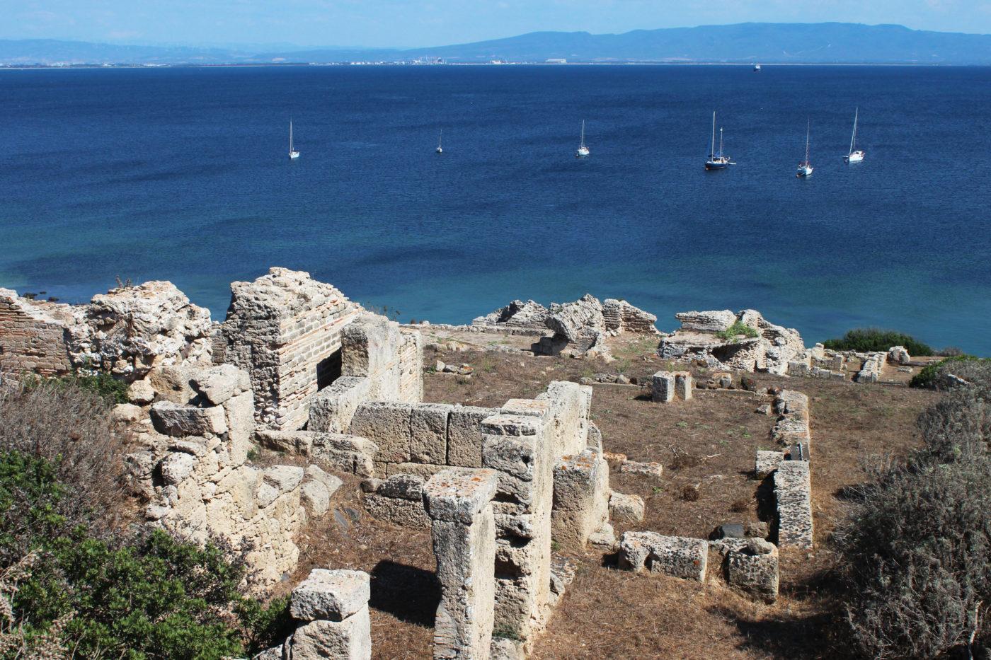 Sardegna Da Alghero ad Oristano area acheologica di tharros