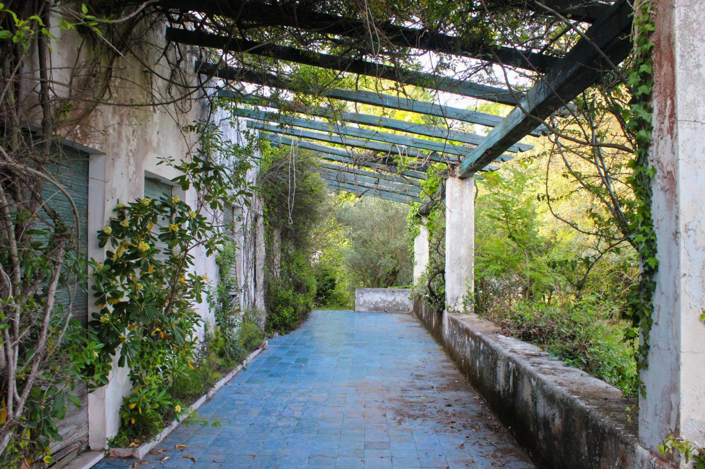 Sperlonga villa Abbandonata