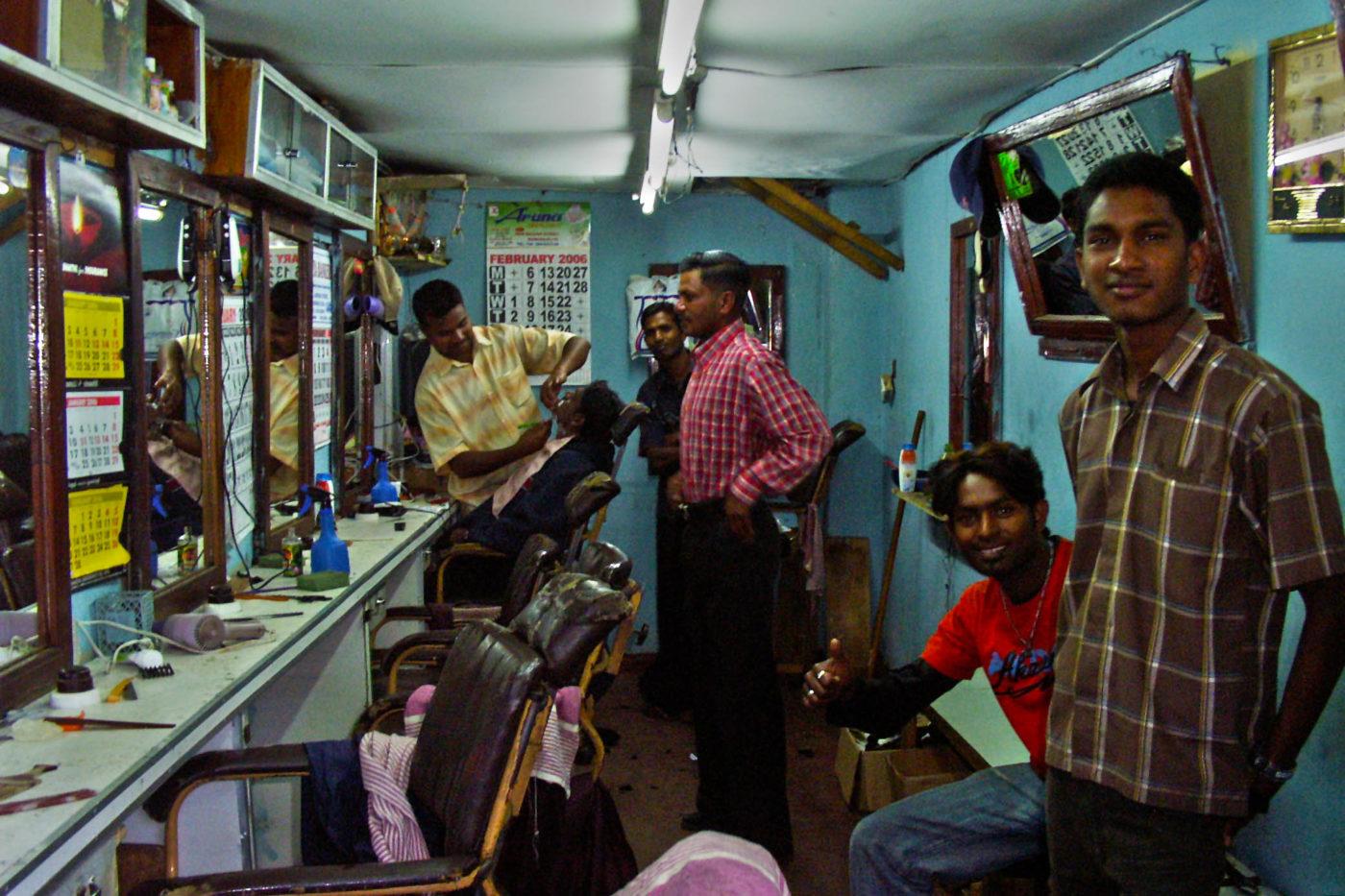 Sri Lanka Nuwara Eliya barbiere