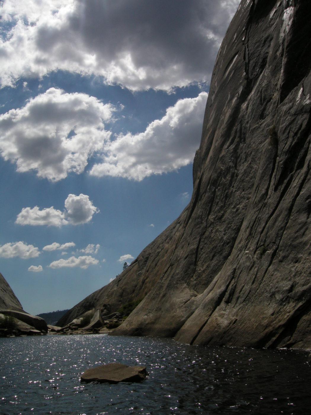 Fiume Granito Trekking Yosemite California