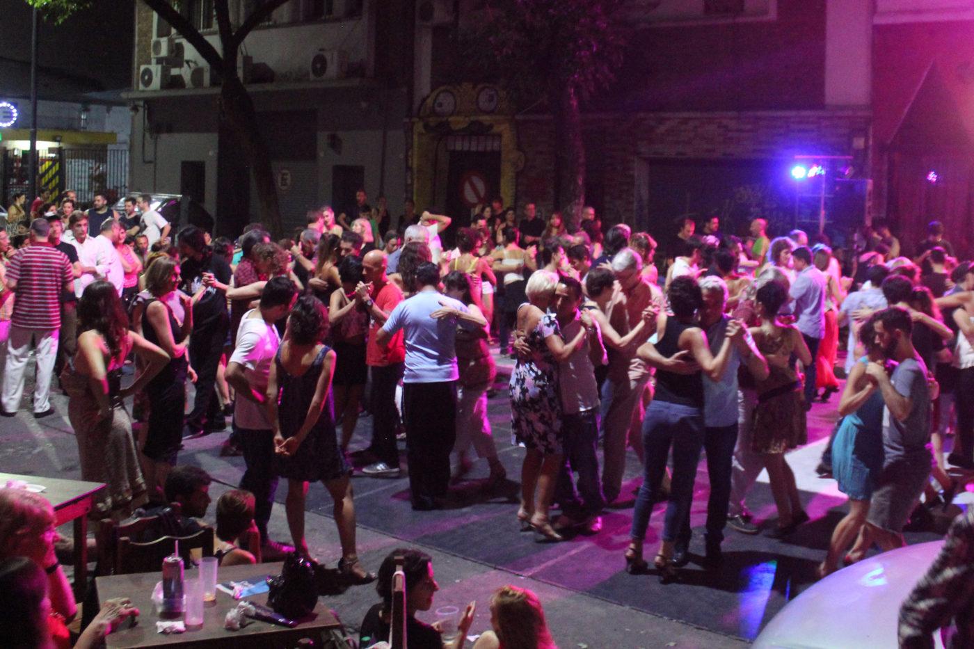 Buenos Aires Argentina Tango Notte Strada
