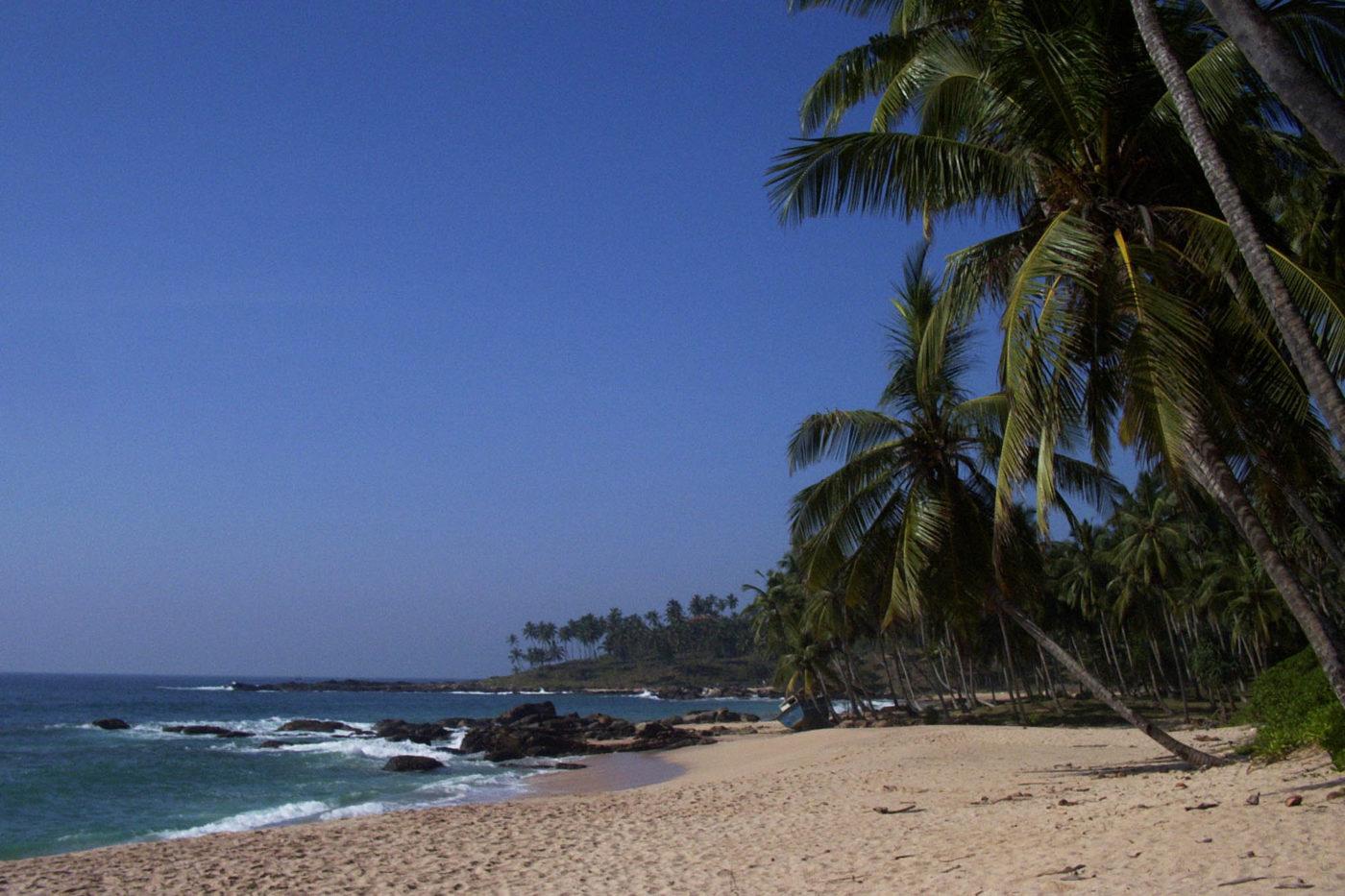 Spiaggia Sri Lanka